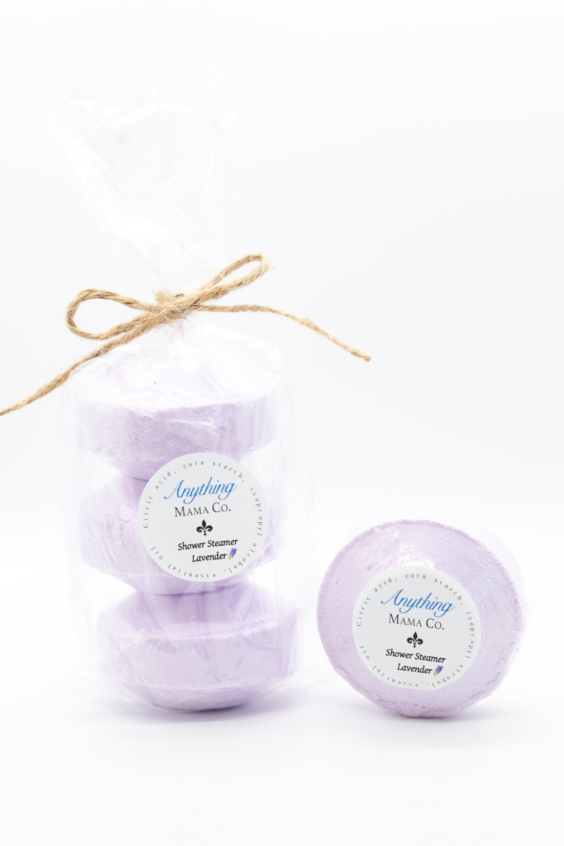 Lavender Shower Steamer 3 oz. (each)