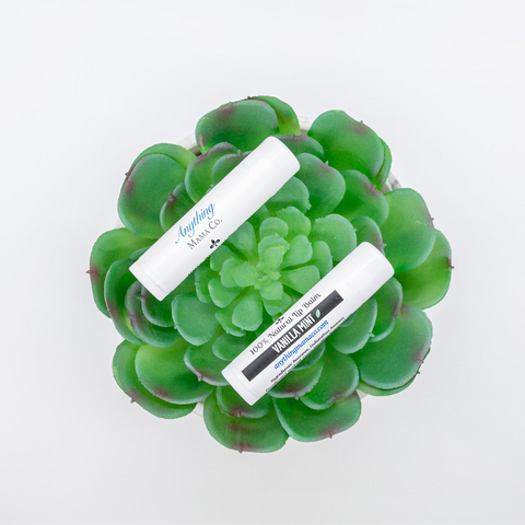 100% Natural Lip Balm Vanilla Mint