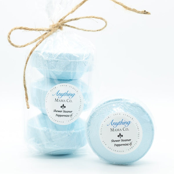 Peppermint Shower Steamer 3 oz. (each)