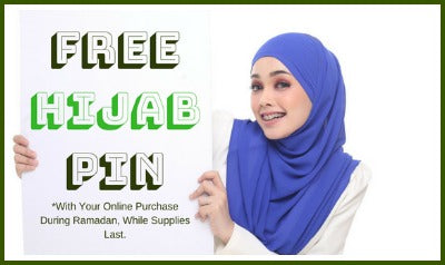 Happy Ramadan-Free Hijab Pin With Every Order!