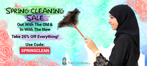 We're Spring Cleaning Our inventory-Save 20% On Your New Hijab