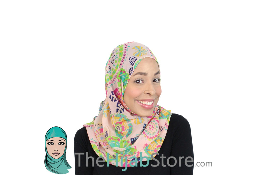 How to get the perfect spring street look with a hijab?