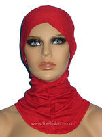 Fully Covered and Cool-Ninja Hijab Under Scarf