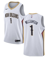 d7a303fd Nike Zion Williamson New Orleans #7 Pelicans Navy 2019 NBA Draft First  Round Pick Swingman Jersey - Icon Edition