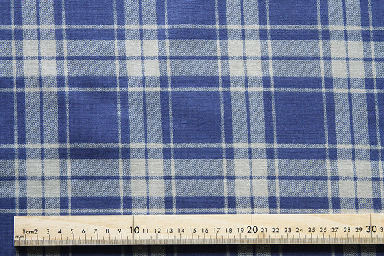 Printed Plaids Cotton Canvas CA0040