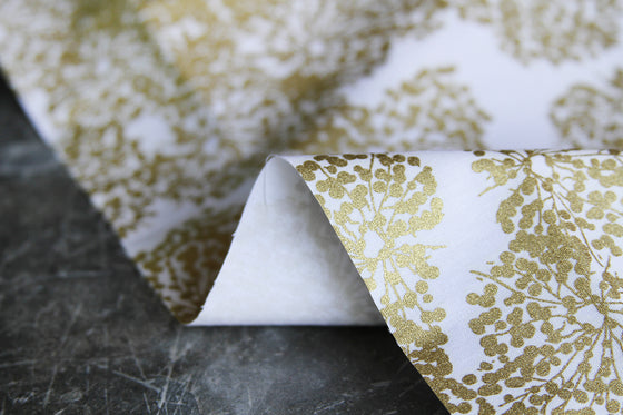Printed Cotton with Gold Foil RG0008