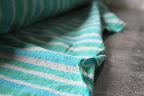 Stripe Linen Cotton CA0002