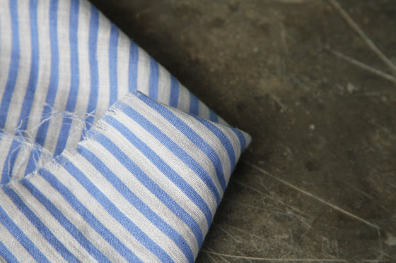 Printed Stripe Linen Mix CA0025