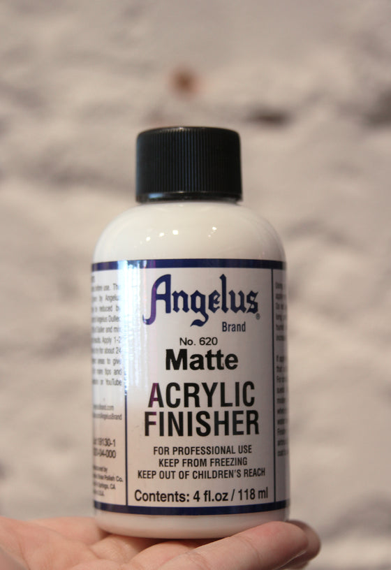 Angelus Matte Acrylic Finisher 4oz/118ml