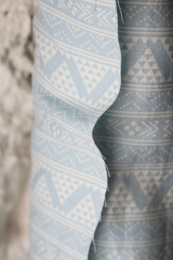 Printed Fairisle Cotton CA0037