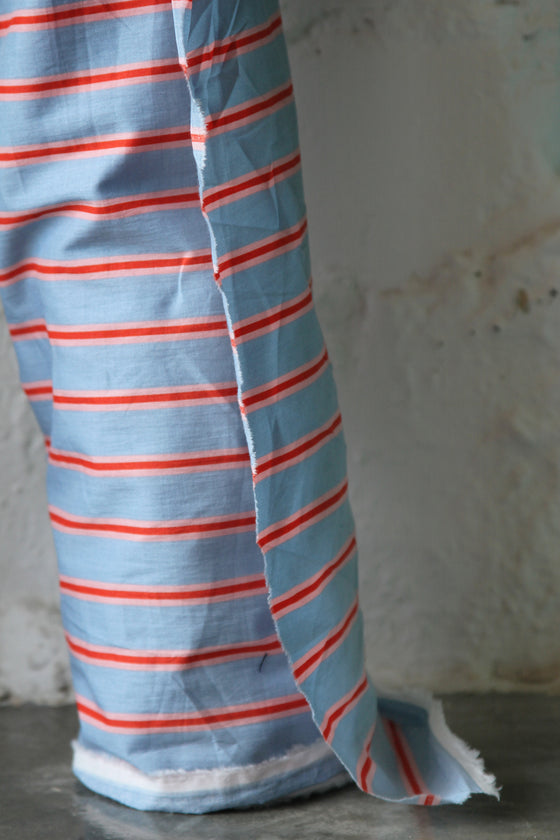 Printed Stripe Cotton CA0024