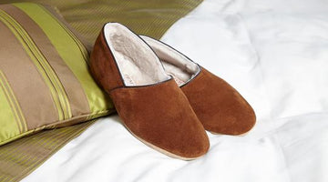 Drapers' Authentic Shearling Slippers - A Comfort Solution