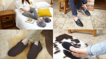 How to Clean Suede Shearling Slippers?