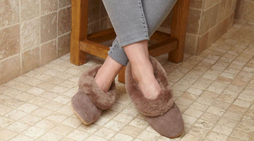 Shearling Slippers for Ladies - An Excellent Gift to Keep Warm