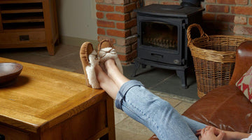 Shearling Slippers Made in England