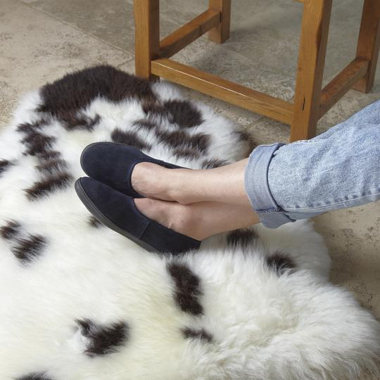 British Made Shearling Slippers