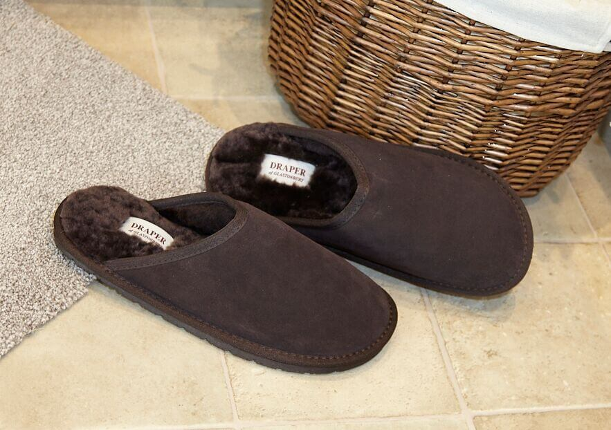 Daniel Mens Shearling Slippers