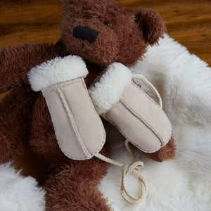 Baby Shearling Mittens