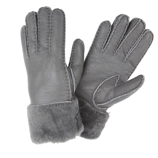 Cuff Shearling Gloves