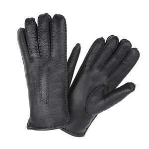MEN'S BLACK NAPPA GLOVES