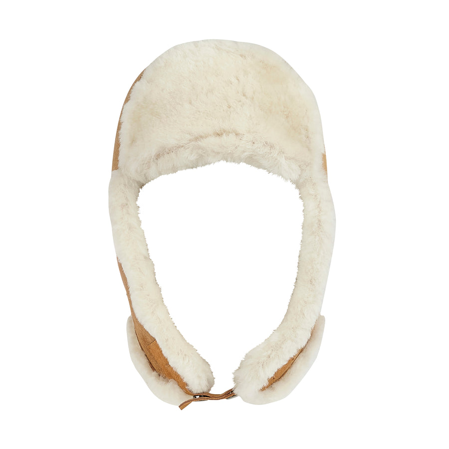 MEN'S SHEARLING TRAPPER HAT