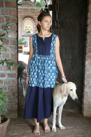 Fit for a Princess: Mehera Shaw's block-printed indigo