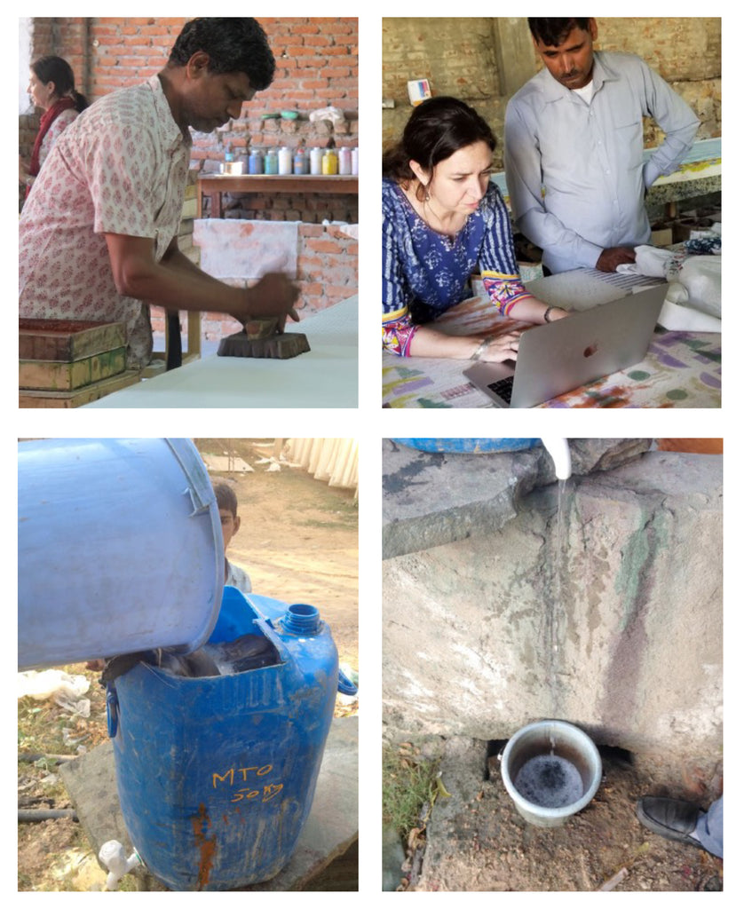 water filtration project at Mehera shaw