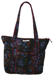 f47790ff77 Everyday Tote in Haiku Print Quilted Organic Cotton - Mehera Shaw