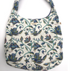 Susan Tote in Nambour Blues Block Print