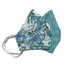 Washable Face Mask in Turquoise Prints