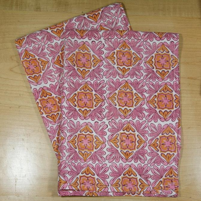 Tea Towels in Moroccan Berry Print