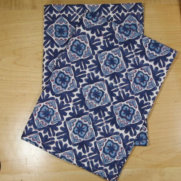 Tea Towels in Moroccan Lotus Print