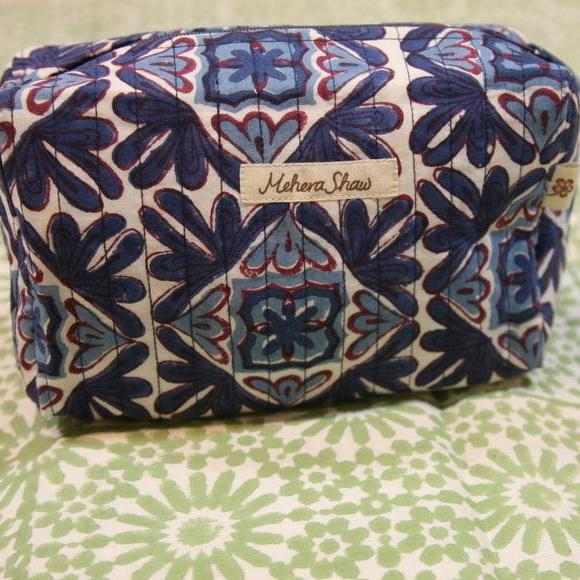 Travel Bag Mini in Moroccan Lotus Print