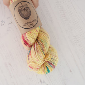 Funfetti Birthday Cake Sock Yarn