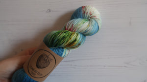 Rainbow Dash Sock Yarn