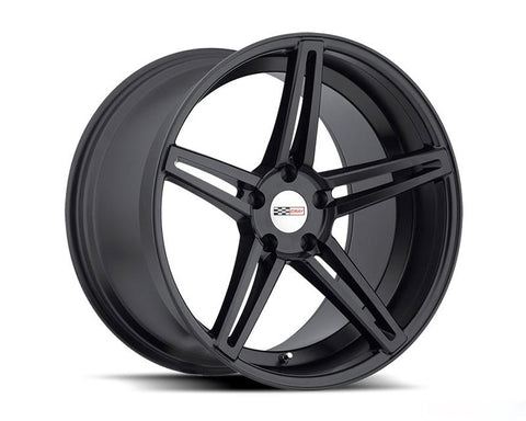 CRAY BRICKYARD MATTE BLACK WHEEL 18X9 5X120.65 50MM
