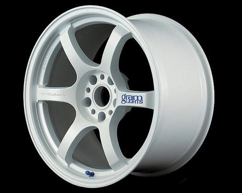 GRAMLIGHTS CERAMIC WHITE 57D WHEEL 18X9.5 +22 5-114.3 22MM