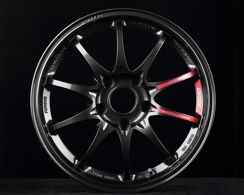 VOLK RACING CE28 CLUB RACER II BLACK EDITION DIAMOND DARK GUNMETAL WHEEL 17x9.5 5x14.3 +12mm