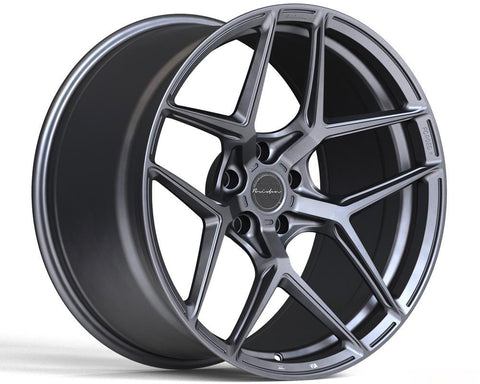 BRIXTON RF7 SATIN ANTHRACITE 19x8.5 5x130 45MM