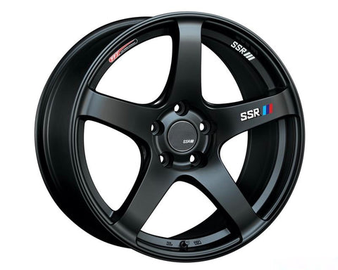 SSR GTV01 WHEEL MATTE BLACK 18x9.5 5x114.3 22MM