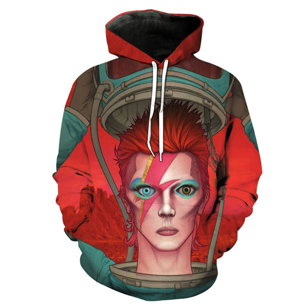David Bowie 2018 Design-2 [Tee/Long Sleeve/Hoodie]