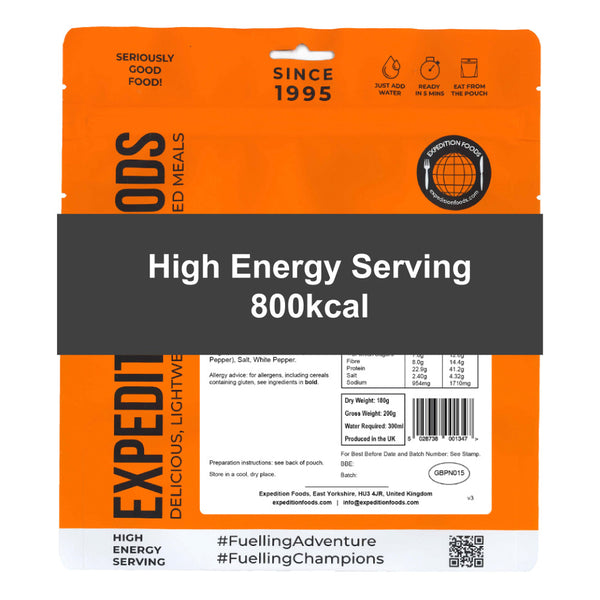 High Energy Serving (800kcal)