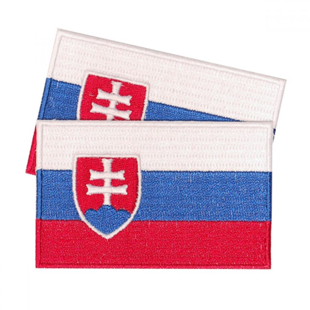 Slovak Republic Patches (set of 8)