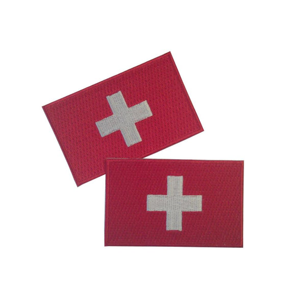 Switzerland Patches (set of 8)