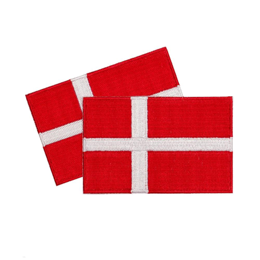 Denmark Patches (set of 8)