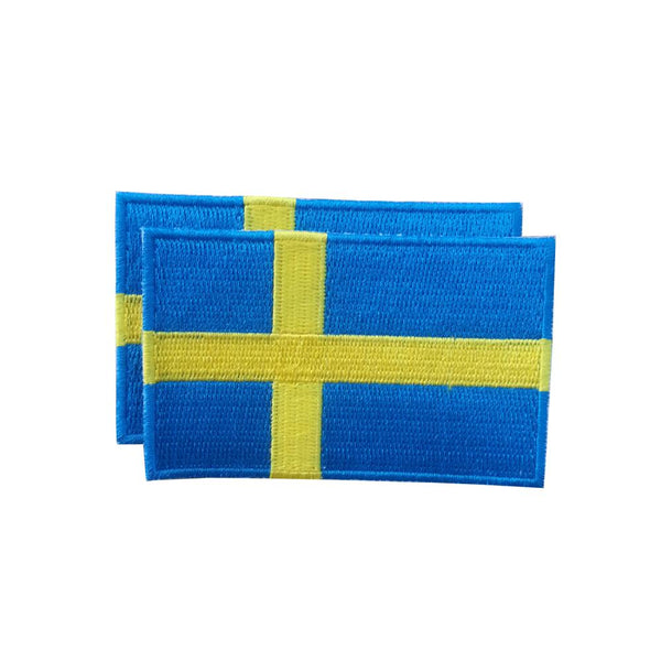 Sweden Patches (set of 8)