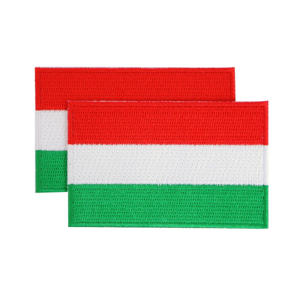 Hungary Patches (set of 8)