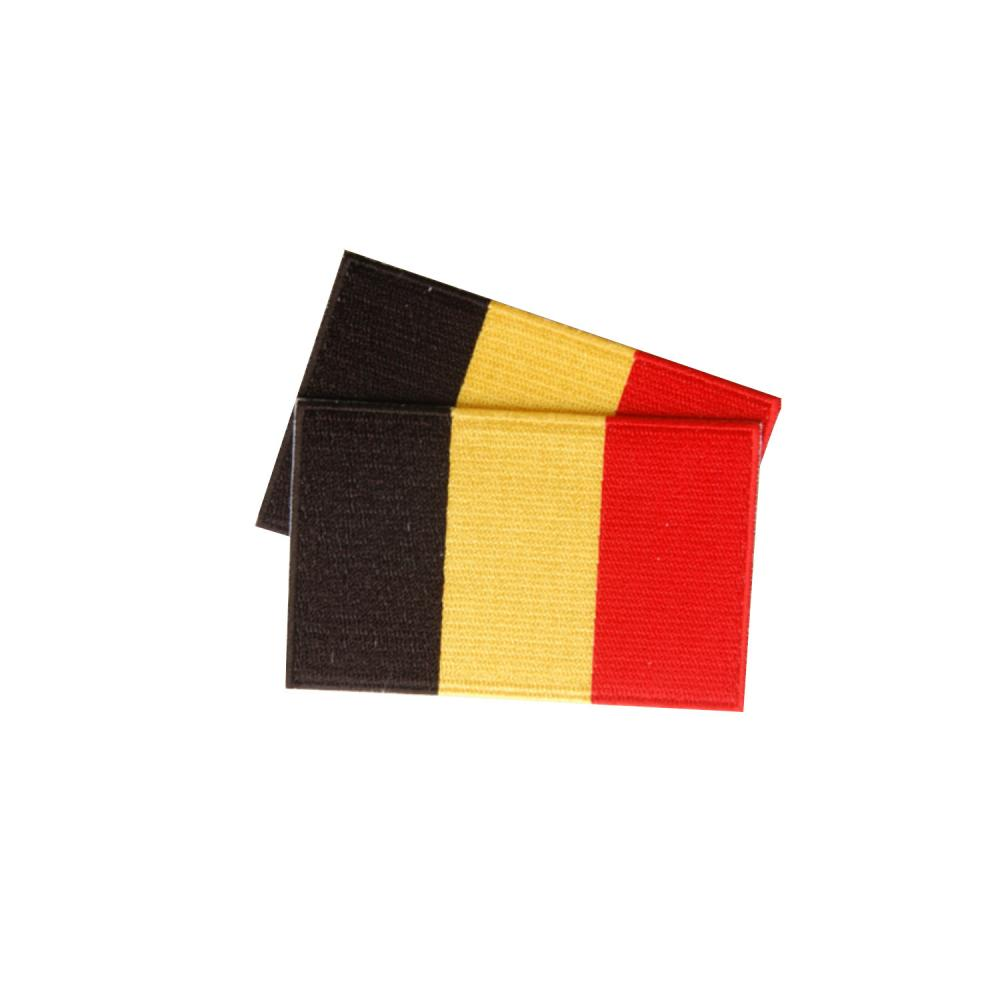 Belgium Patches (set of 8)