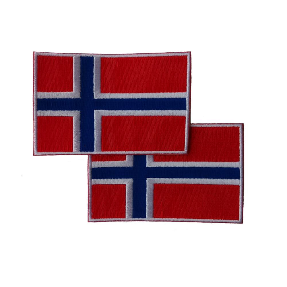 Norway Patches (set of 8)