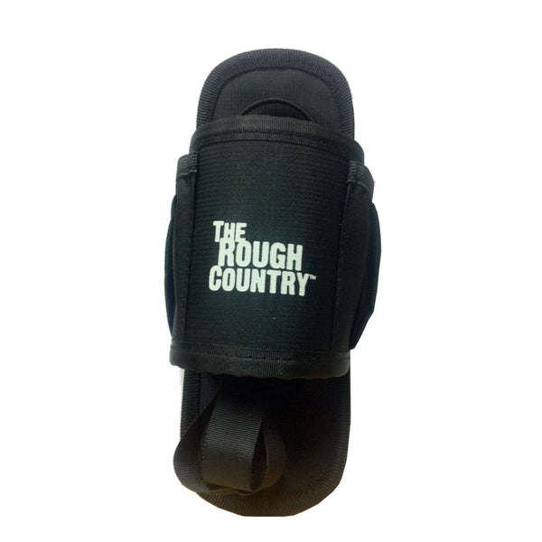 The Rough Country Bottle Holder with Touch Fasteners